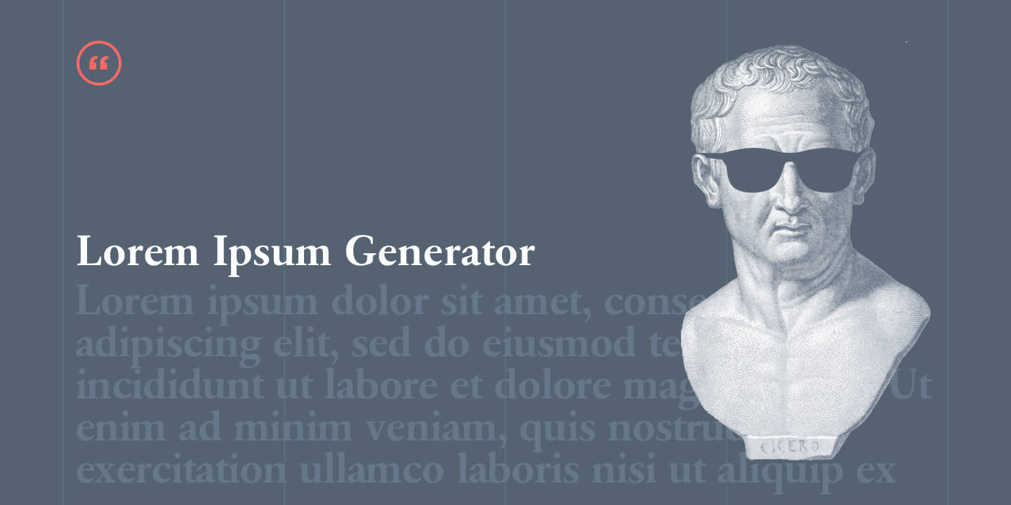 Ultimate List of Lorem Ipsum Generators