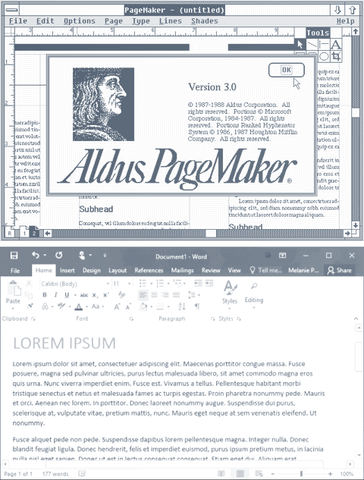 Lorem Ipsum in Word Processing Software